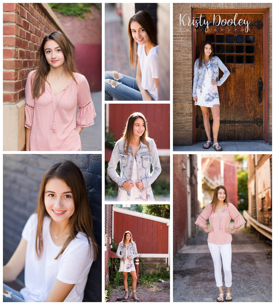 Vermont High School Senior Portrait Photographer